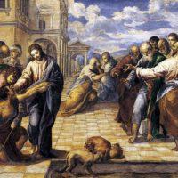 El greco-guarigione del-cieco-dresden
