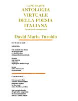Poesie di David Maria Turoldo