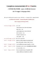 programma mostra Senoner 2013